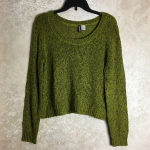Divided by H&M Size 6 Green Sweater Pullover